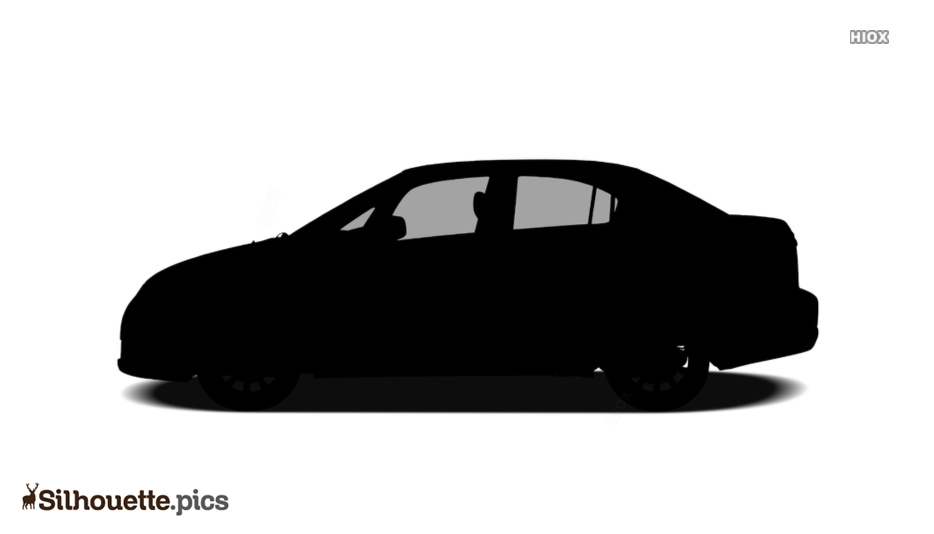 Sedan Car Silhouette Drawing