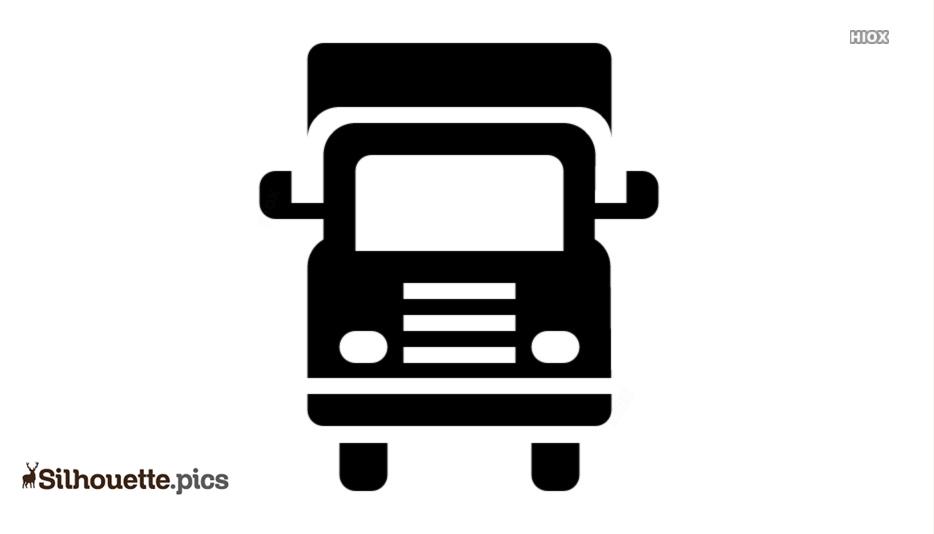 Semi Truck Icon Clip Art