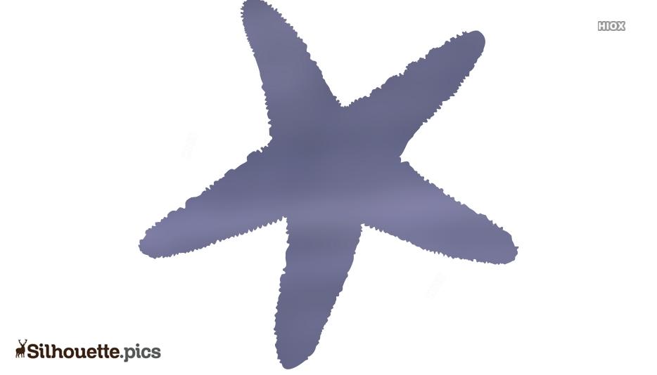Serpent Starfish Silhouette Free Vector Art
