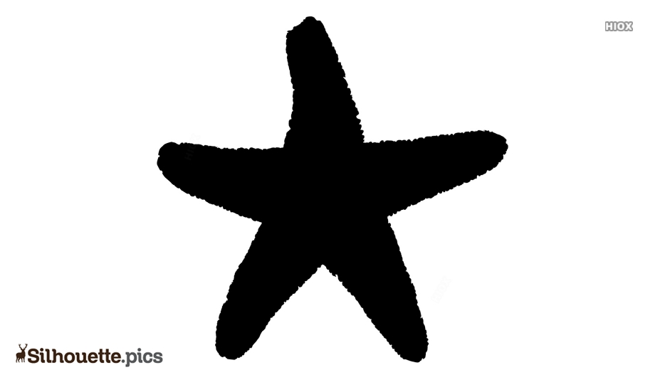 Serpent Starfish Silhouette Vector And Graphics