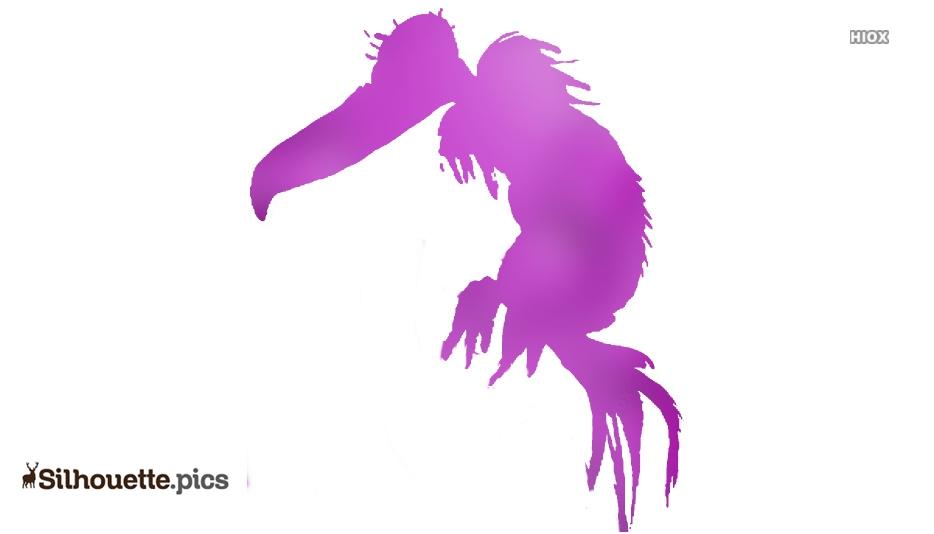 Seuss Birds Silhouette Drawing
