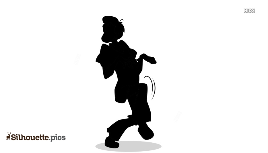 Shaggy Rogers Funny Silhouette