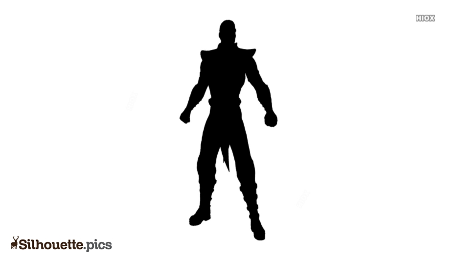 Shang Tsung Silhouette Background
