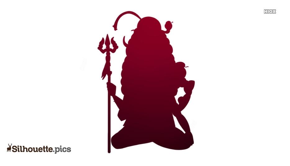 Shiva Cartoon Silhouette Clip Art