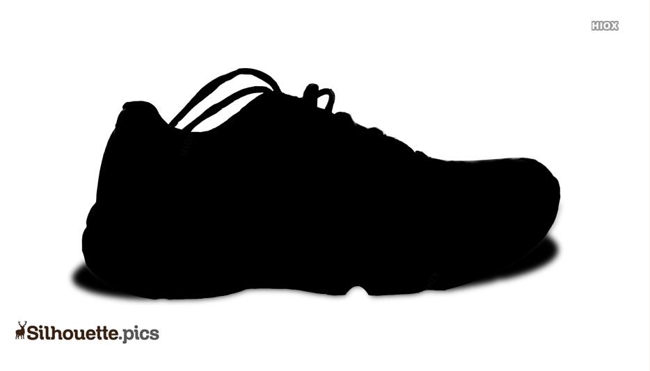 Shoe Silhouette Vector Picture