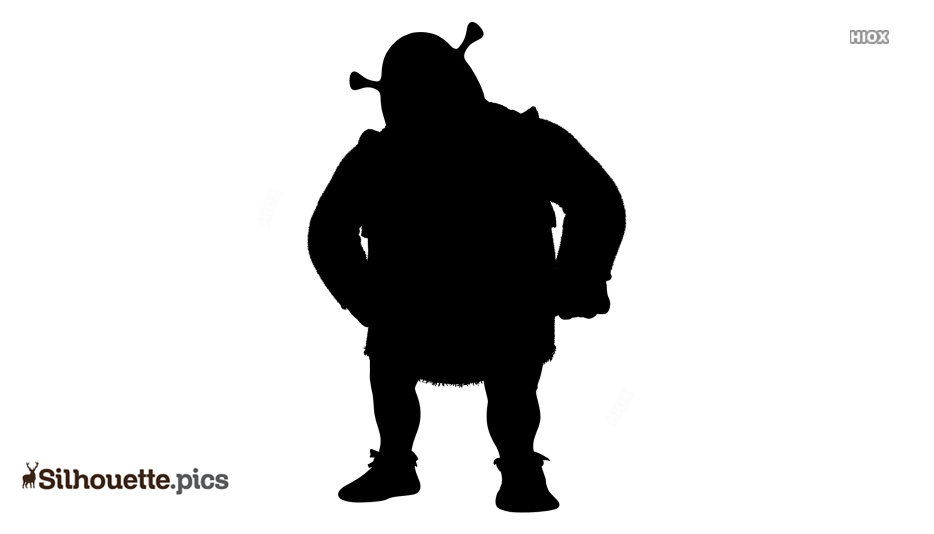 Shrek Cartoon Characters Silhouette Background Silhouette Pics