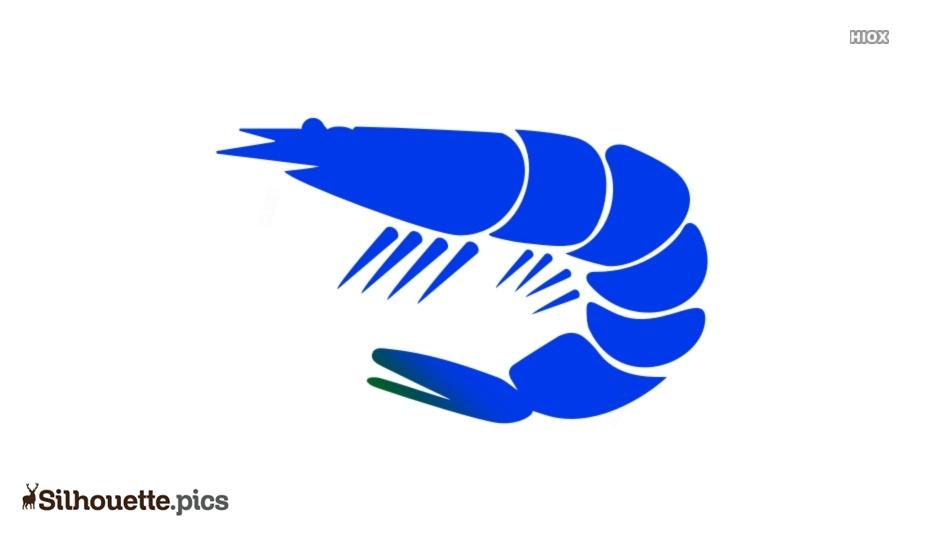 Shrimp Clipart Silhouette