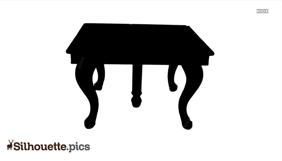 Table Silhouette Images
