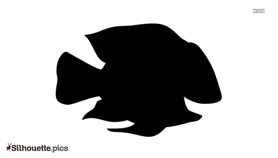 Silhouette Cartoon Of A Fish