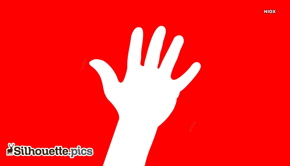 Hand Gesture Silhouette Images, Vectors Free Download