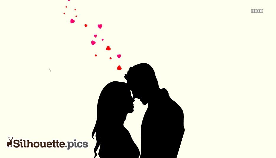 Silhouette Love Couple