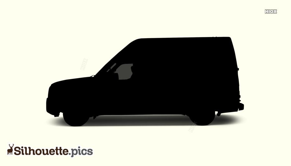 Silhouette Of Cargo Van