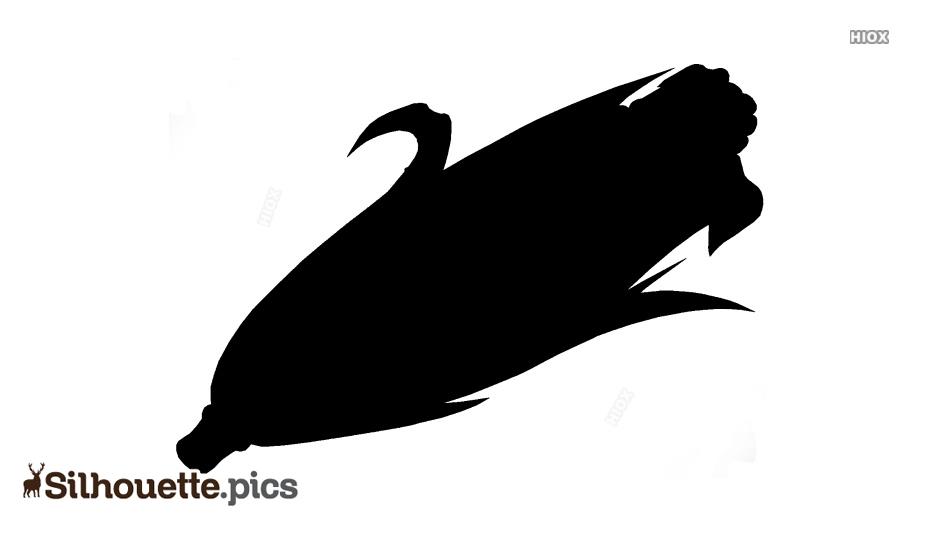 Silhouette Of Corn