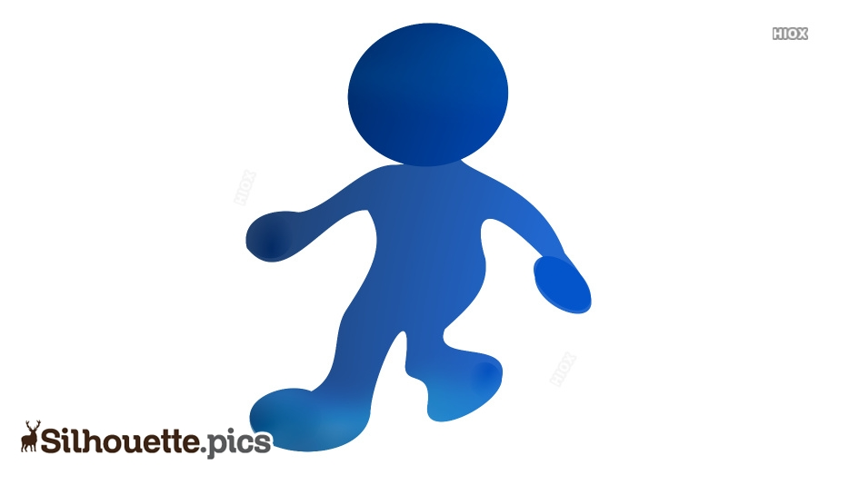 Cartoon Boy Silhouette Images, Pictures