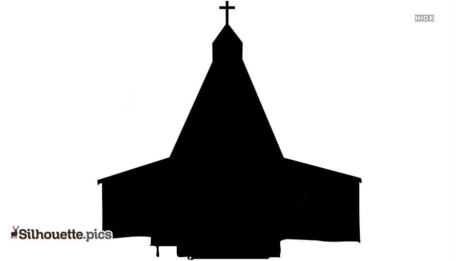 Simple Church Clipart Vector