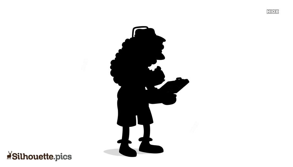 Simpson Symbol Silhouette