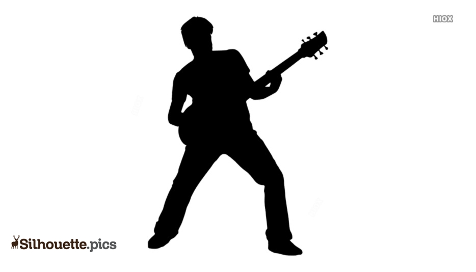 Guitar Player Silhouette Images