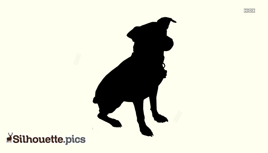 Sitting Dog Silhouette Png