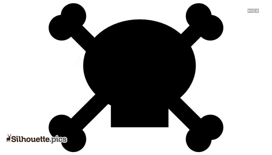 Skull And Crossbones Symbol Symbol Silhouette