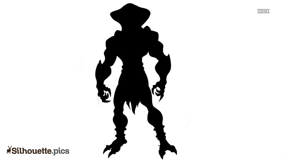 Snake Man Silhouette, Sanke Man Clip Art