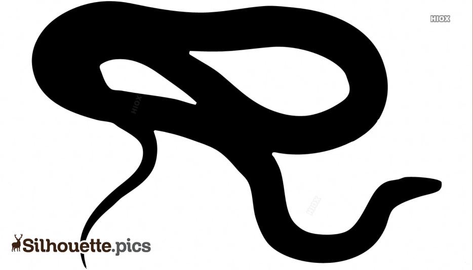Snake Silhouette Outline