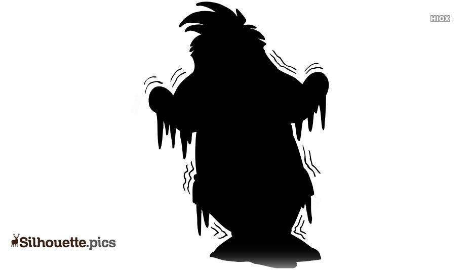 Snowman Shivering Cartoon