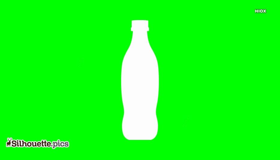 Softdrinks Bottle Silhouette Image