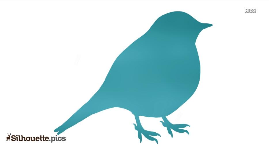 Songbird Clipart Silhouette