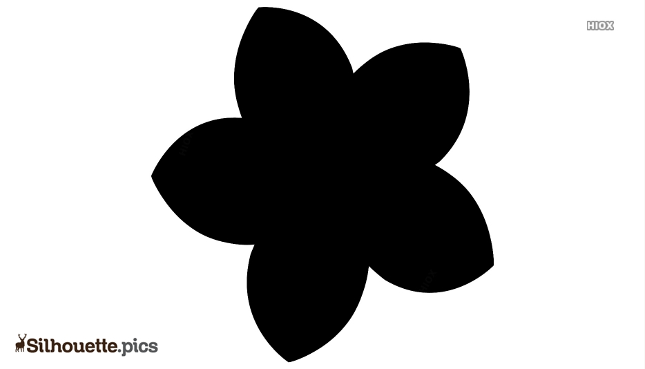 Spa Flower Silhouette Vector And Graphics