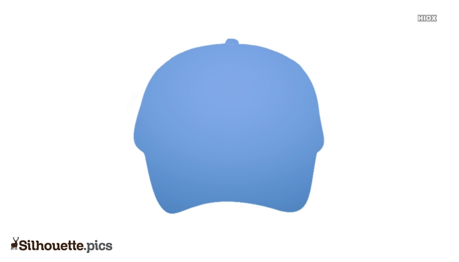 Sports Cap Silhouette Image