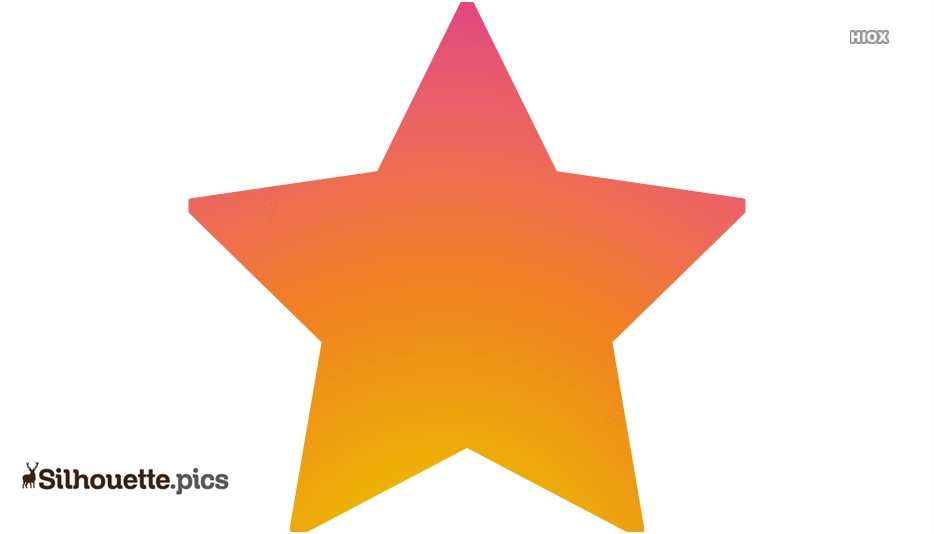 Star Clip Art Silhouette