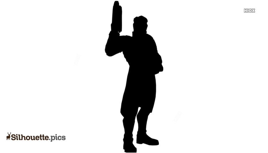 Star Lord Silhouette Illustration