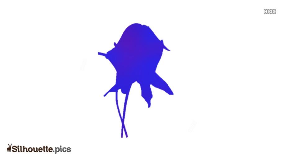 Star Of Bethlehem Flower Silhouette Image And Vector