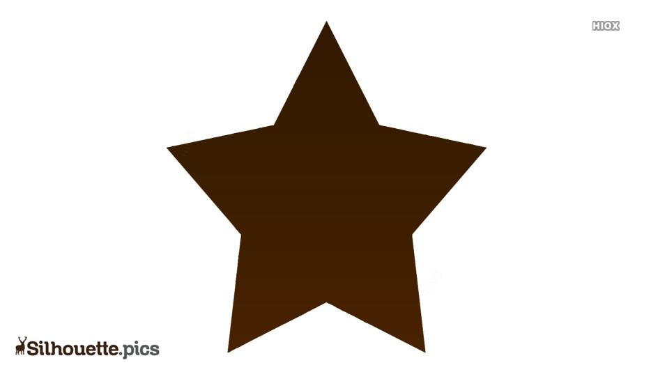 Star Shape Silhouette Art For Free