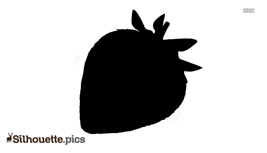 Strawberry Silhouette Free Download