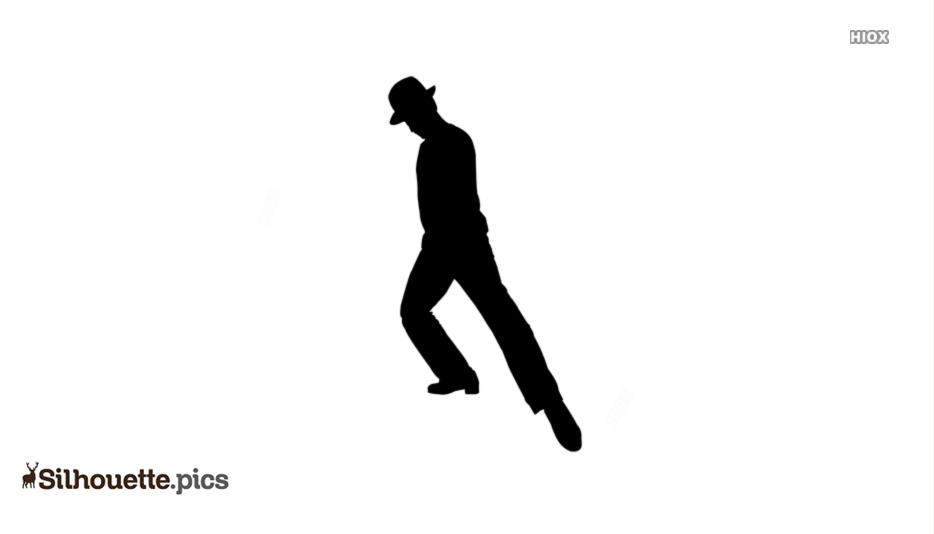 Dance Pose Silhouette Vector