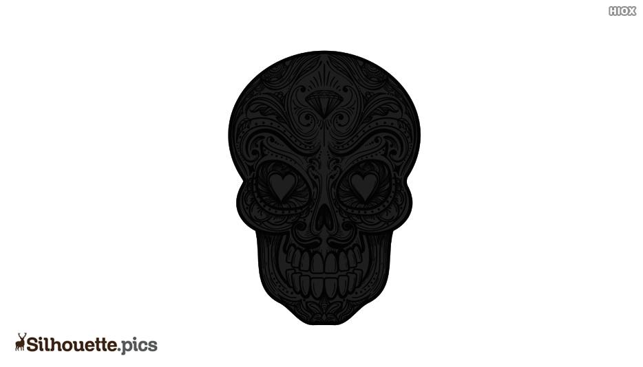 Sugar Skull Silhouette
