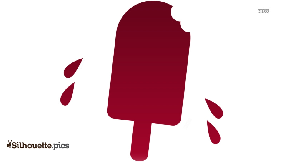 Summer Special Ice Cream Clipart Silhouette