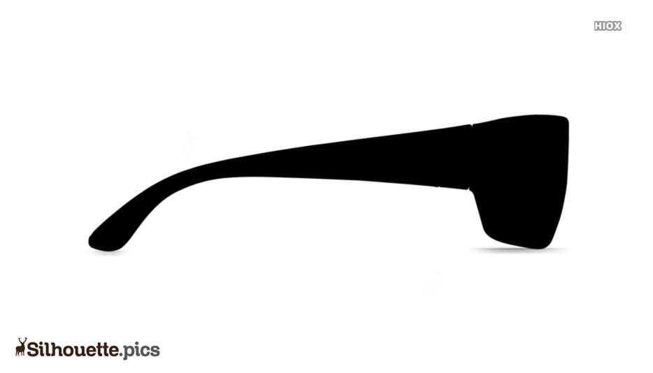 Sunglass Silhouette Illustration