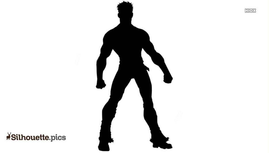 Fictional Superhero Silhouette Images