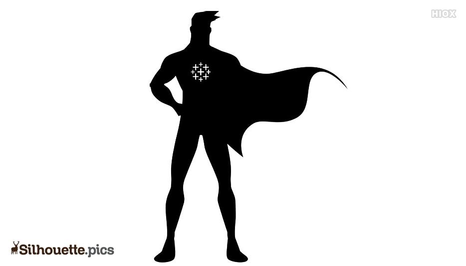 Superhero Silhouette Wallpaper
