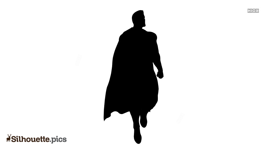 Superman Toy Silhouette