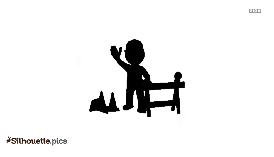 Construction Worker Silhouette Images