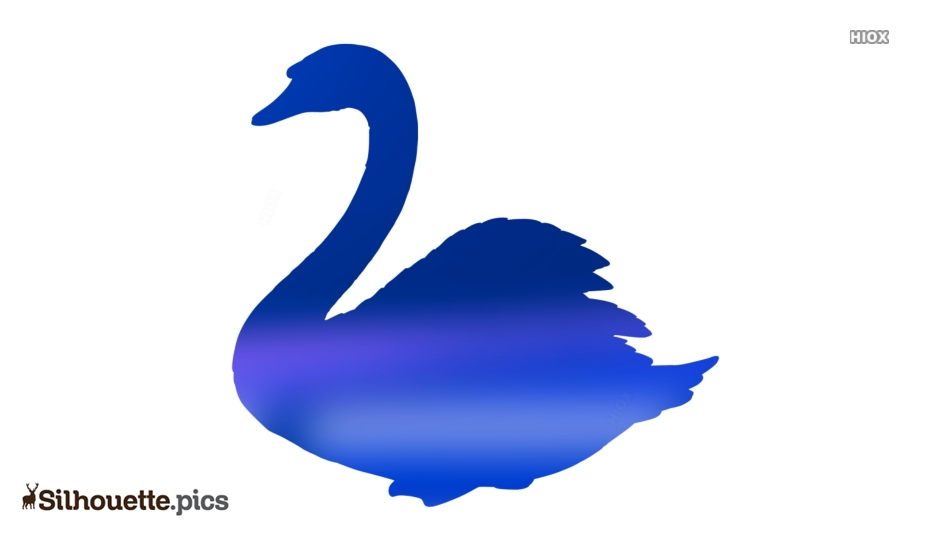 Swan Silhouette Image And Vector