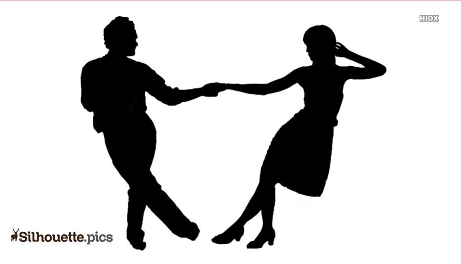 Swing Dance Clip Art Free Silhouette