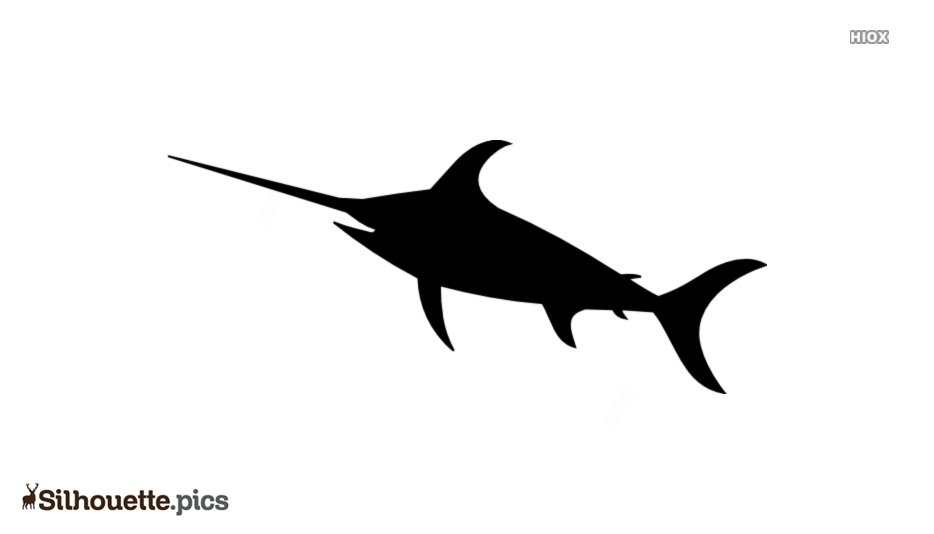 Sword Fish Silhouette