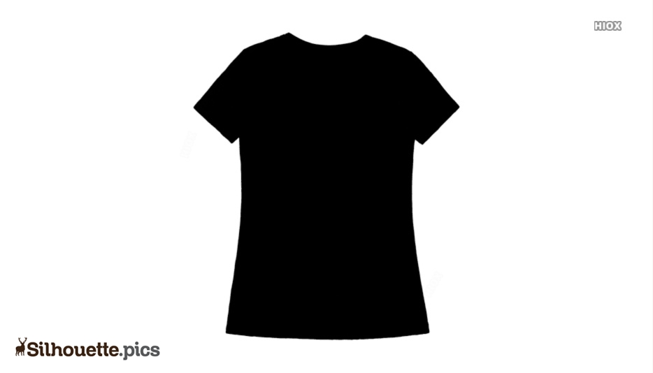 T Shirt Silhouette Free Vector Art