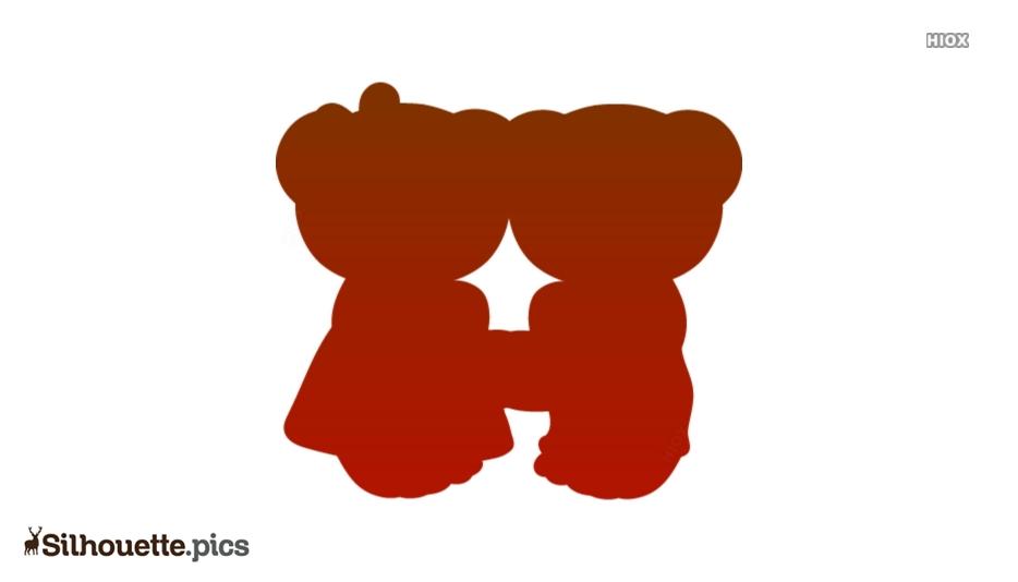 Teddy Bear Clipart Silhouette