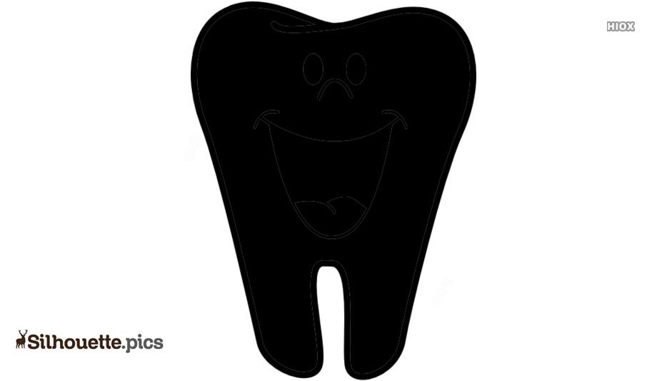 Teeth Silhouette Illustration