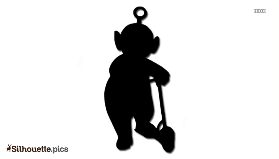 Teletubbies Character Silhouette
